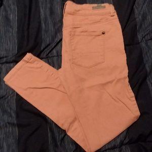 Pink Lauren Conrad skinny jeans